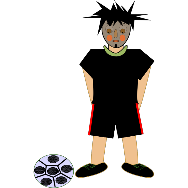 Fotbalista PNG Clip art