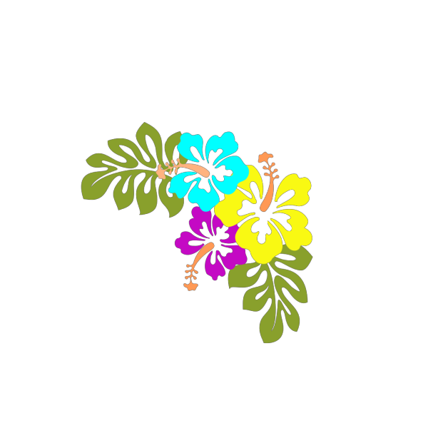 Purple Bell Flowers PNG Clip art
