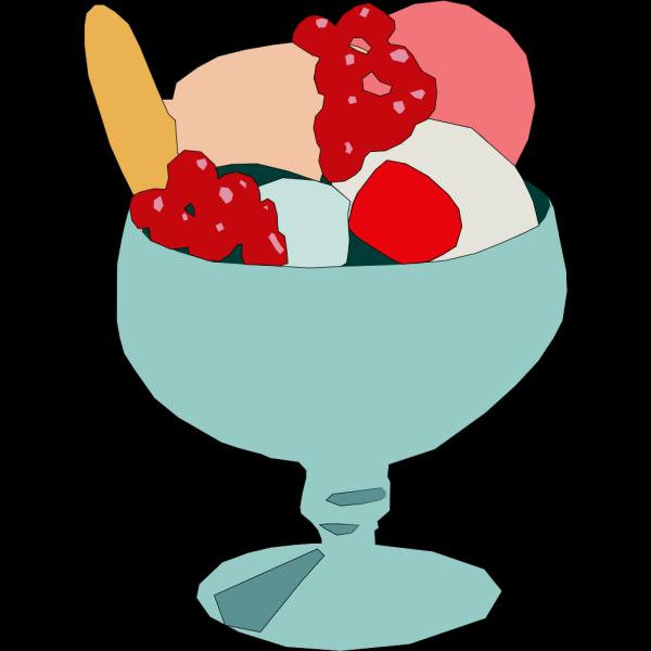 Zmrzlinovy Pohar PNG Clip art