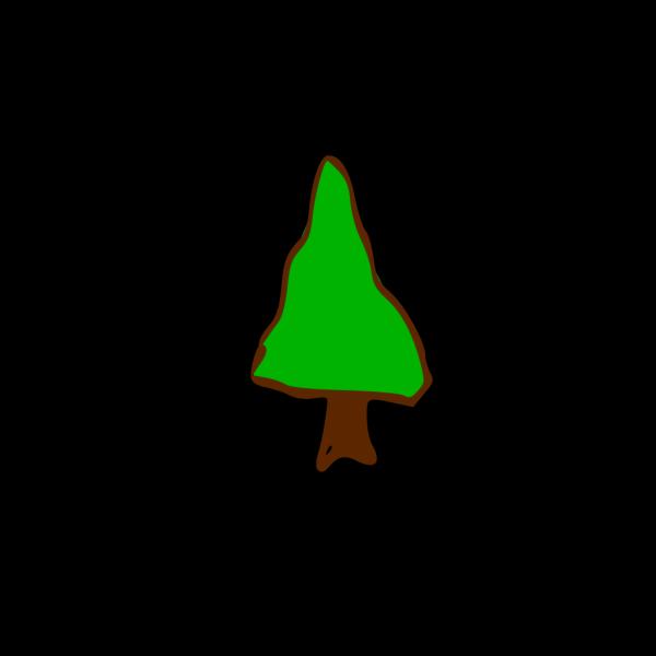 Rpg Map Symbols Tree 5 PNG Clip art