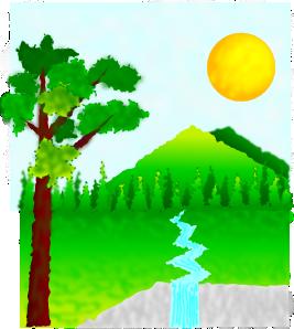 Natural Landscape PNG Clip art