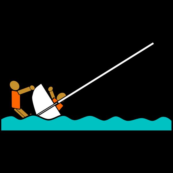 Sailing Capsized Rescue Illustrations PNG Clip art