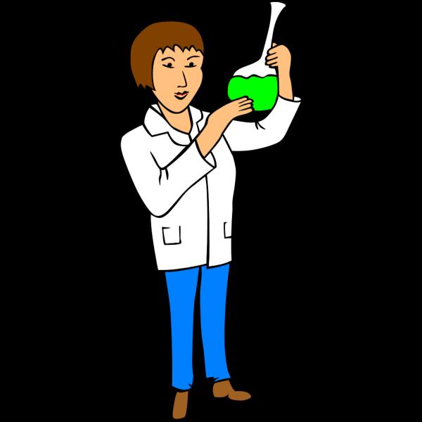 Woman Chemist PNG Clip art