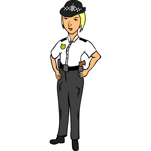 Woman Police Officer PNG Clip art