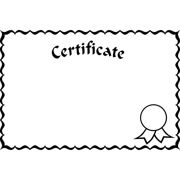 Certificate Frame PNG Clip art