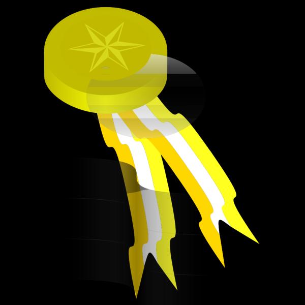 Gold Medallion PNG Clip art