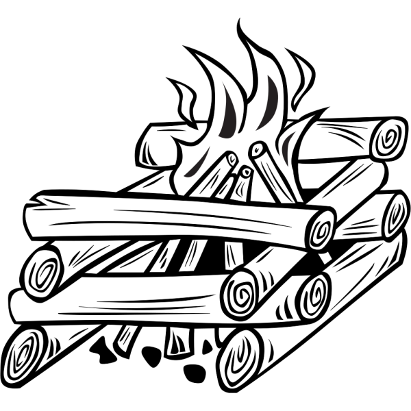 Campfires And Cooking Cranes 24 PNG Clip art