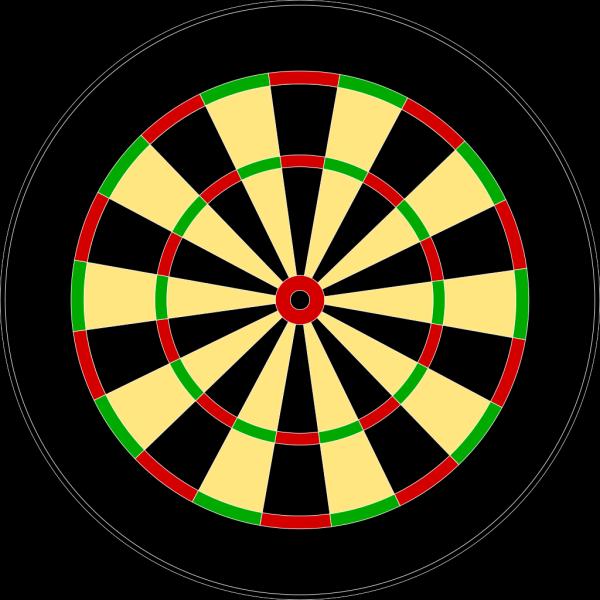 Darts Target PNG Clip art