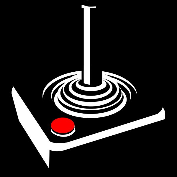 Retro Joystick PNG Clip art