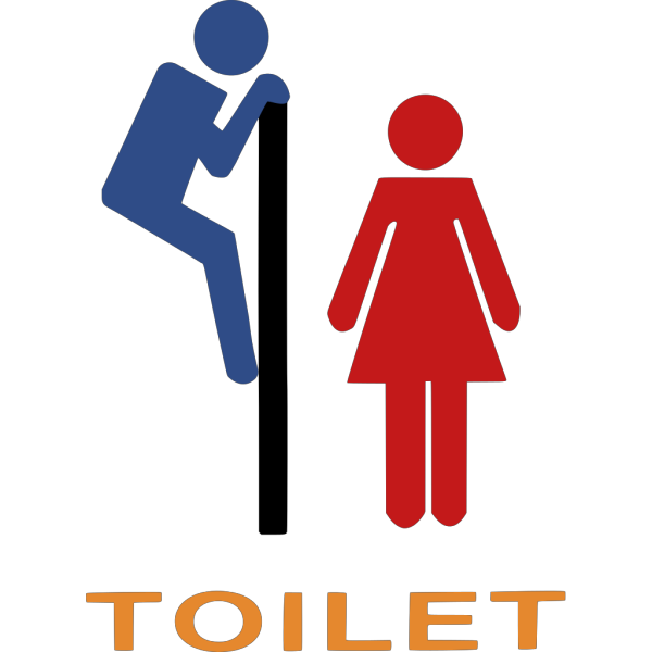 Toilet Sign PNG Clip art