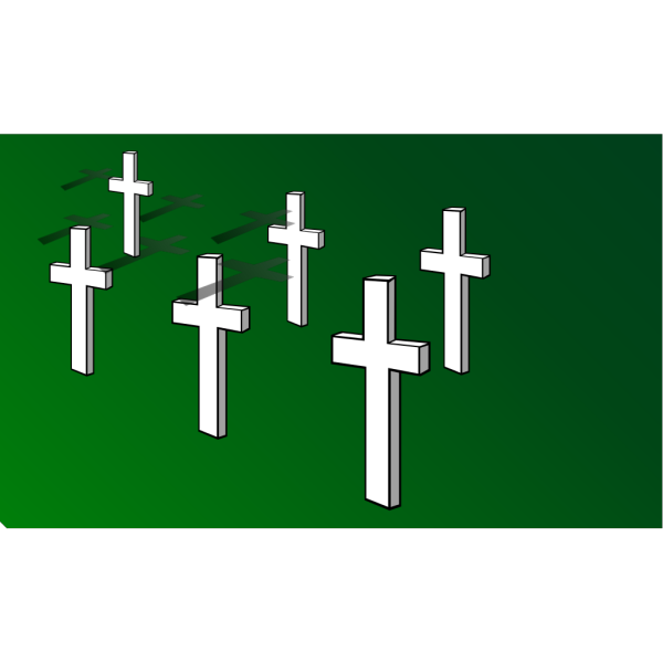 Crosses On Field Remembrance Day PNG Clip art