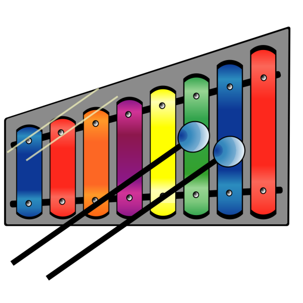 Xylophone Colourful PNG images