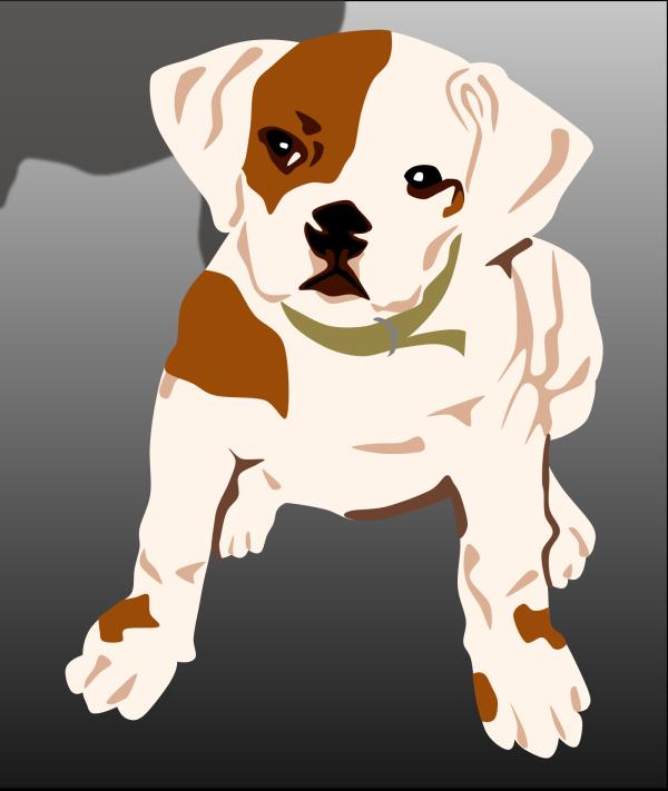 Bulldog Puppy PNG icons