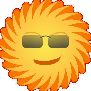 Mr Sun PNG Clip art