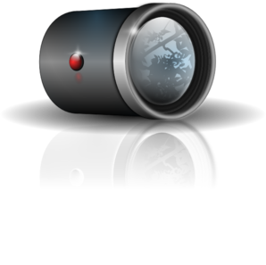 Leftover Bacon Camera Lens PNG Clip art