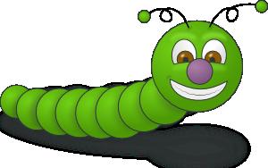 Green Worm PNG Clip art