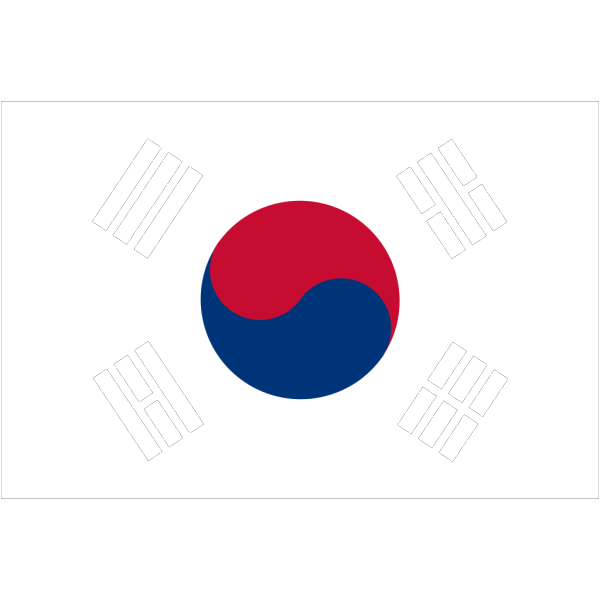 Jp Draws South Korean Flag PNG Clip art