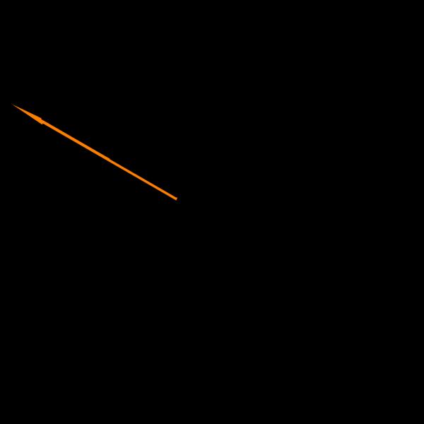 Arrow down blue PNG images