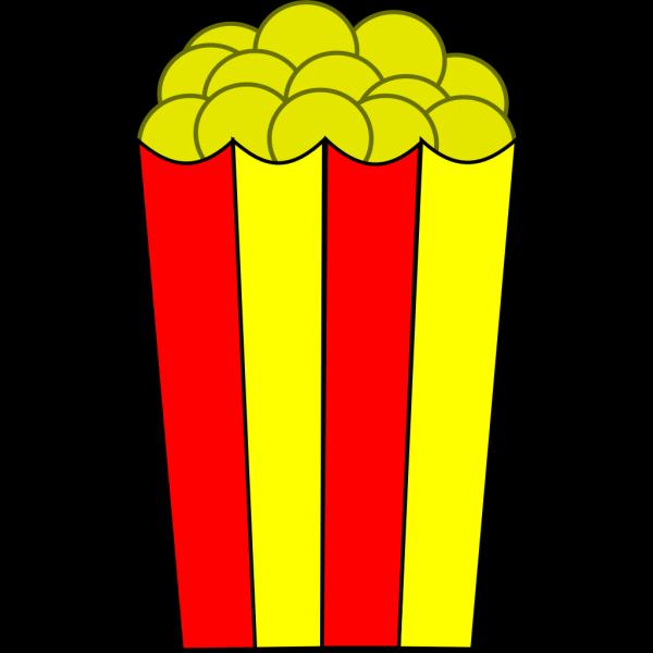 Popcorn PNG images