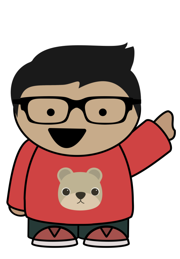 Simple Teddy Bear PNG image