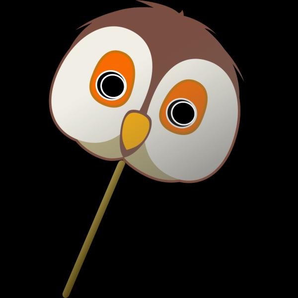 Owl Mask PNG Clip art