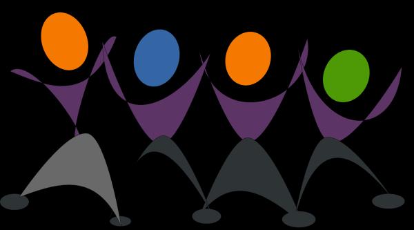 Dancing Skeletons PNG Clip art