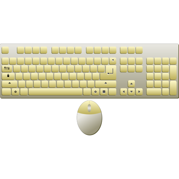 Computer Keyboard And Mouse PNG Clip art