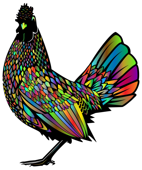 Hen And Rooster PNG Clip art
