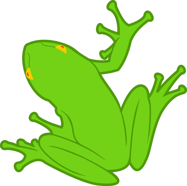 Frog Silhouette PNG Clip art