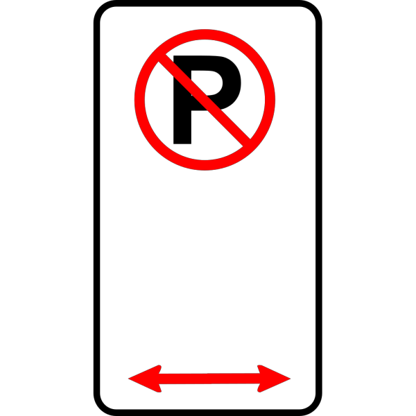 No Parking Zone PNG Clip art