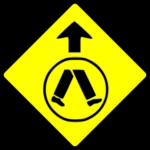 Pedestrians Crossing PNG Clip art