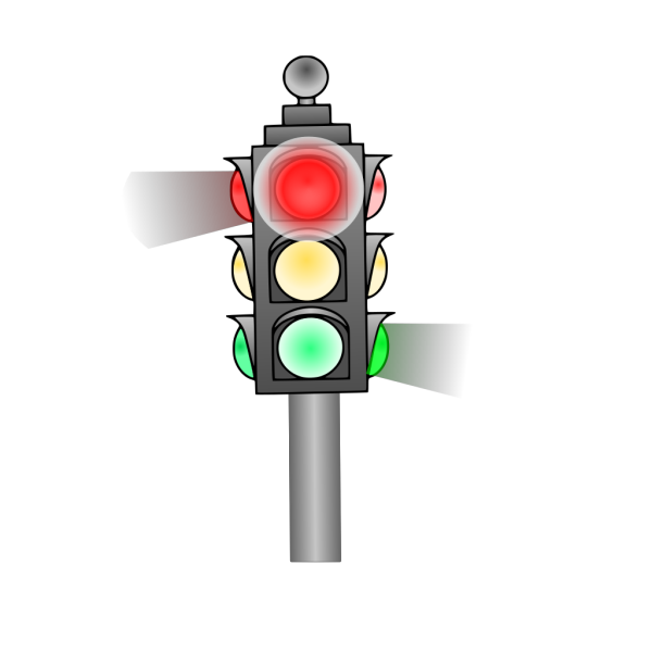 Caution Traffic Lights PNG Clip art