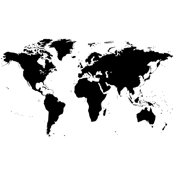 Bessan World Map PNG Clip art