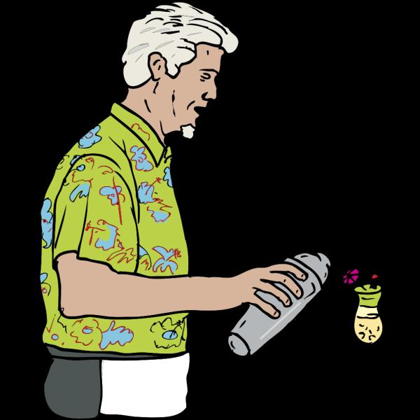 Bartender  PNG Clip art