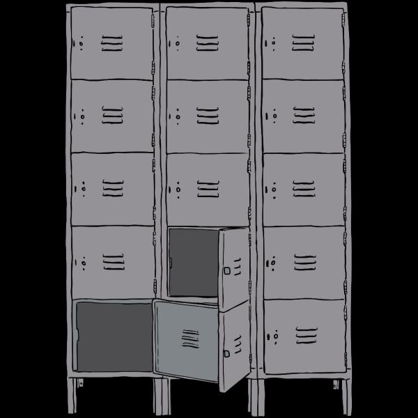 Lockers  PNG Clip art