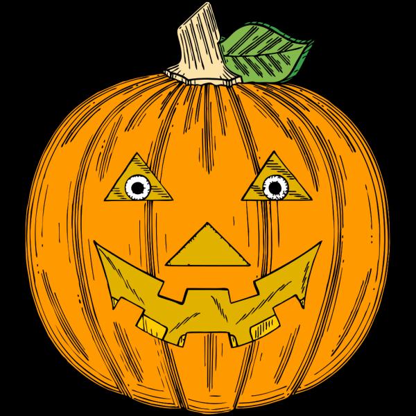 Pumpkin Face PNG Clip art