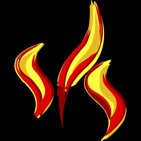 Flames 2 PNG Clip art