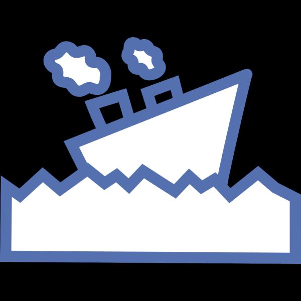Sailing Motor Ship PNG Clip art