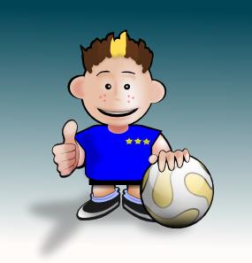 Kid Soccer PNG Clip art