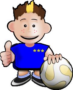 Kobo Soccer Toon PNG Clip art