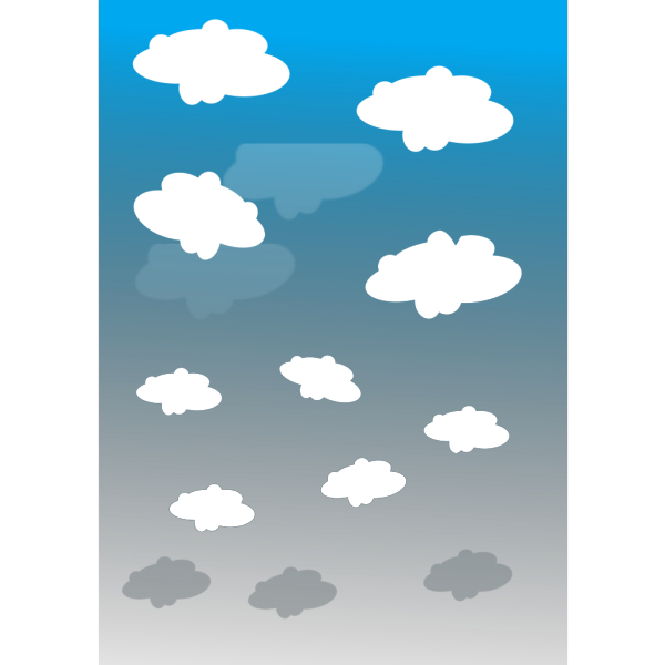 Sky With Clouds PNG Clip art