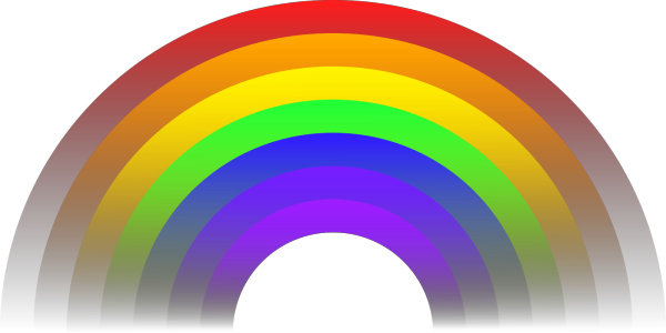 Rainbow PNG icons