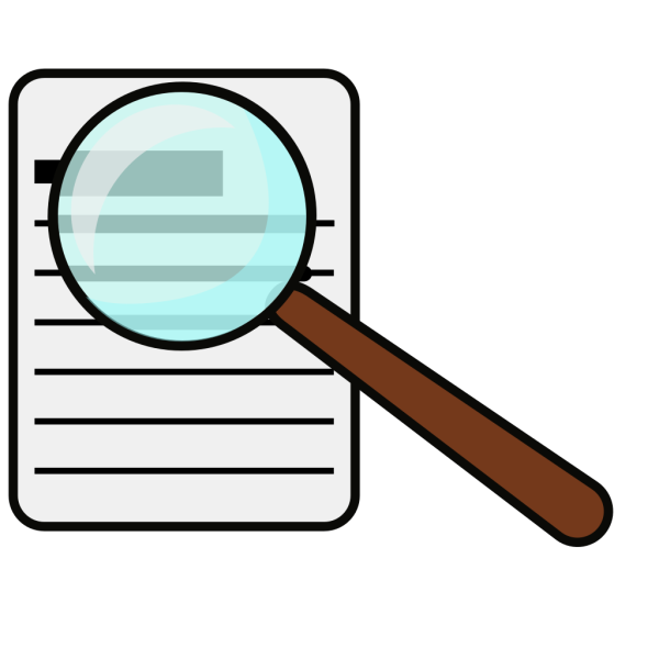 Magnifying Glass PNG icon