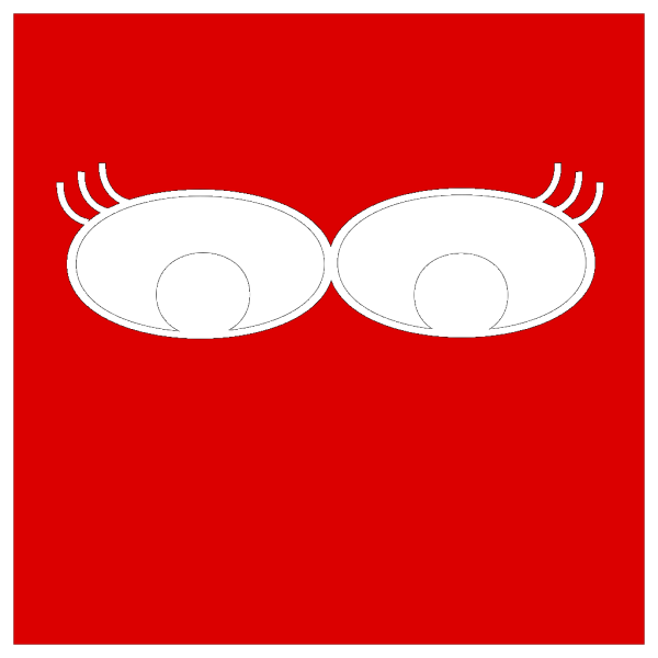 Eyes With Lashes PNG Clip art