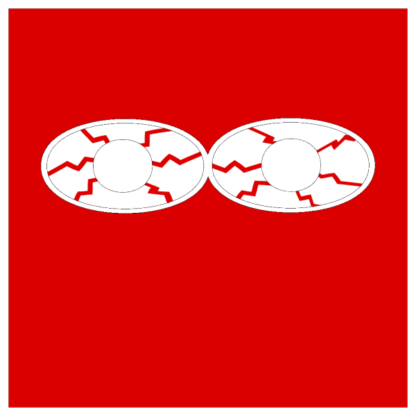 Ted Eyes Bloodshot PNG Clip art