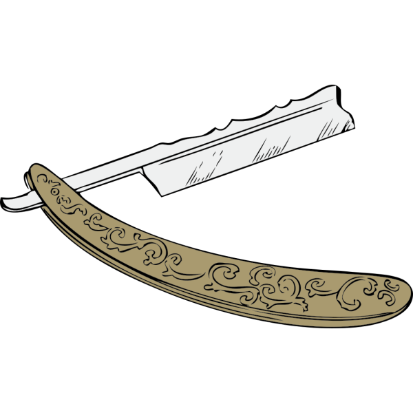 Fancy Razor PNG images
