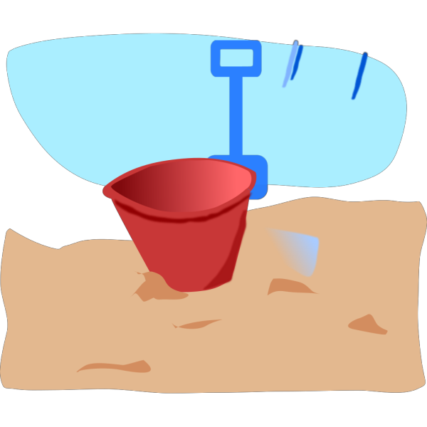 Bucket And Spade PNG Clip art