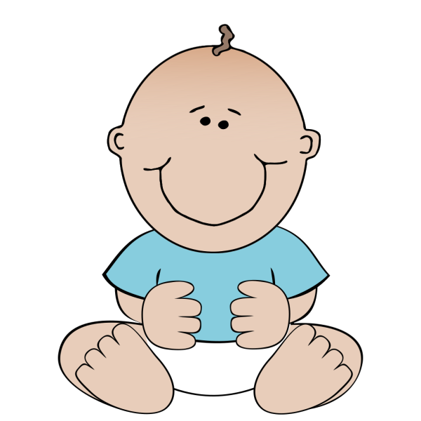 Baby Boy Sitting PNG Clip art