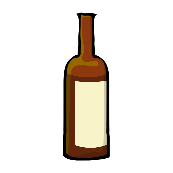 Wine Bottle 2 PNG Clip art