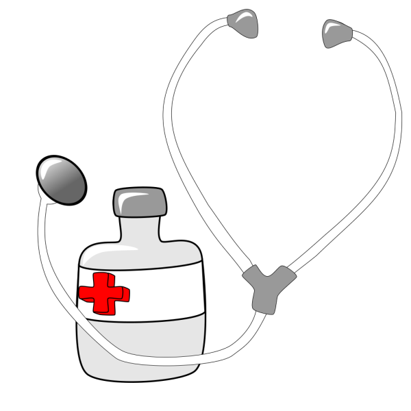 Metalmarious Medicine And A Stethoscope PNG Clip art